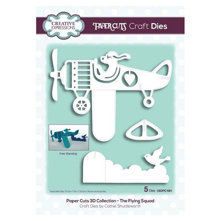Creative Expressions Paper Cuts 3d Collection - The Flying Squad