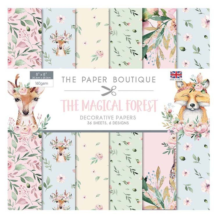 The Paper Boutique Magical Forest 8x8 Paper Pad