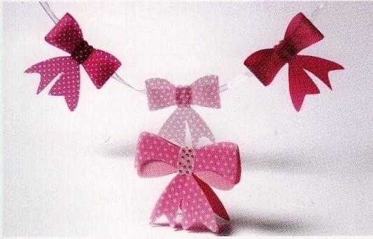 Pergamano Ribbon Bow Template
