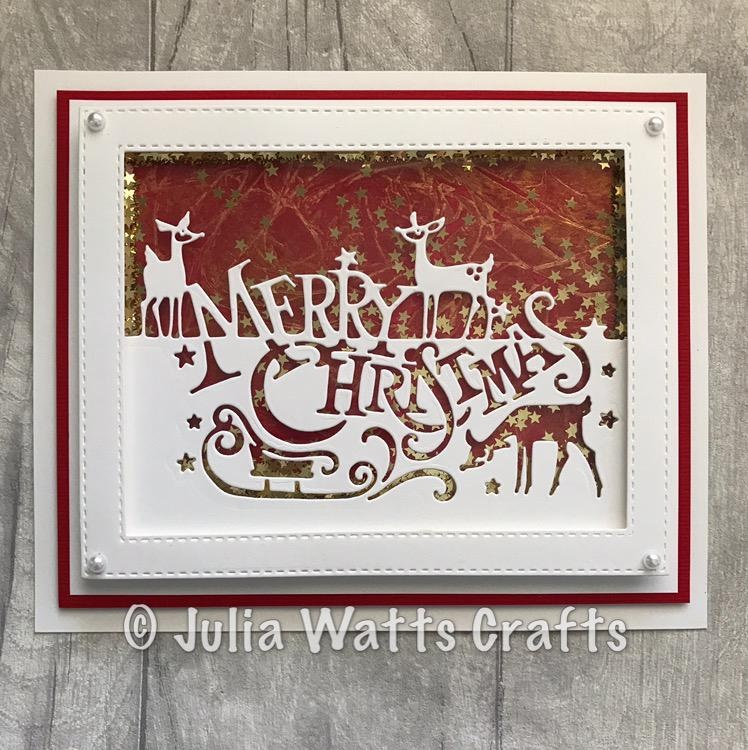Creative Expressions Paper Cuts Collection - Merry Christmas