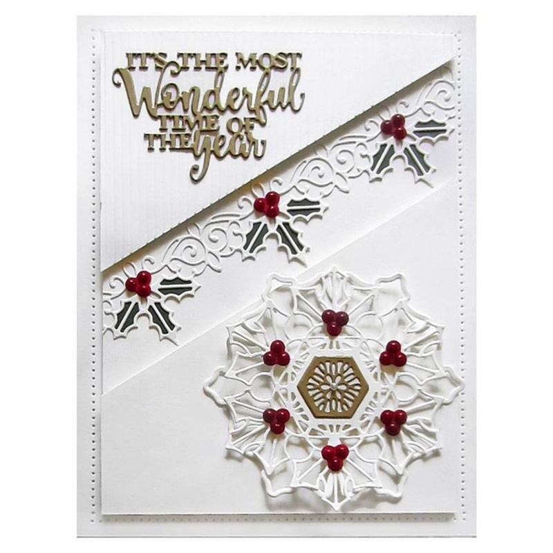 Festive Mini Expressions Wonderful Time Of Year Craft Die