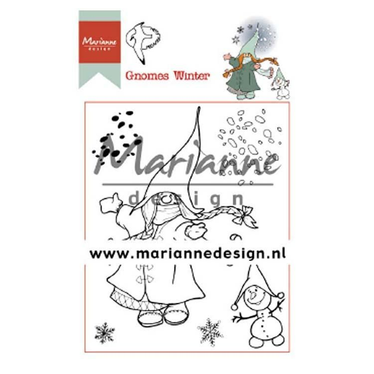 Marianne Design Clear Stamps Hetty's Gnomes Winter