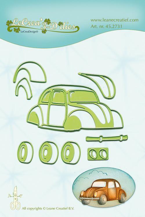 Lea'bilitie Car / Beetle- Cut And Embossing Die