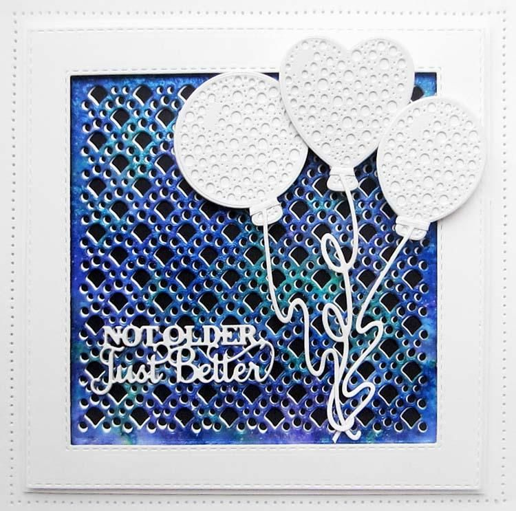 Dies By Sue Wilson Celebrations Collection Dotty Ballons