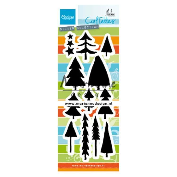 Marianne Design Craftables Trees By Marleen