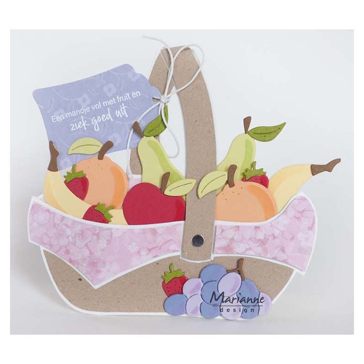 Marianne Design Collectables Fruit By Marleen