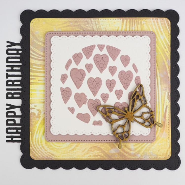 Creative Expressions 5 X 7 Embossing Folder Marble