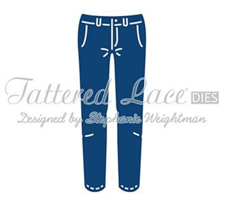 Tattered Lace Die - George's Trousers