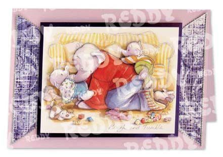 3D Precut (4 Scenes)Humphrey Elephant Rough And Tumble/Girlies
