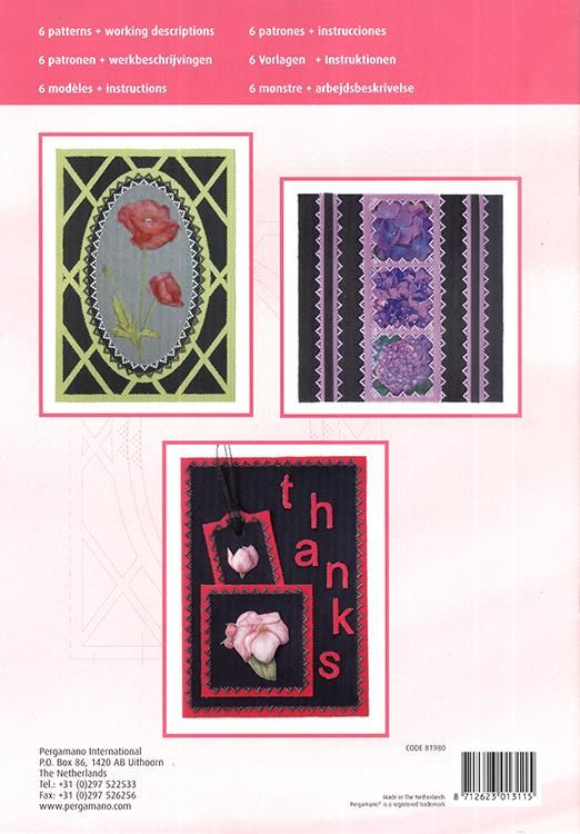 Pergamano Pattern Booklet M70 Colorful Black