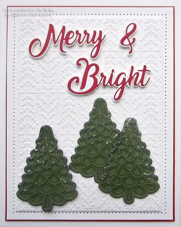 Festive Collection Christmas Tree Triple Layering Die