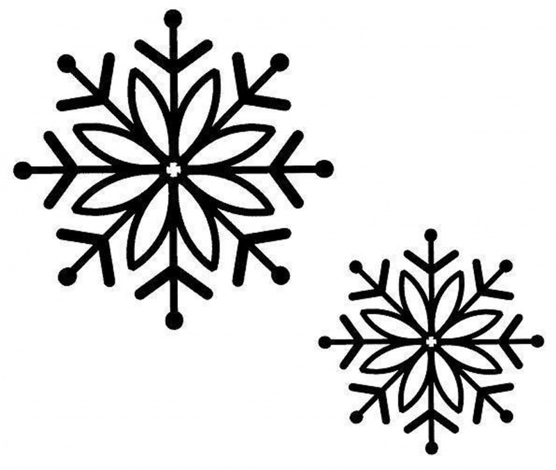 Sue Wilson Stamps - Bold Snowflake