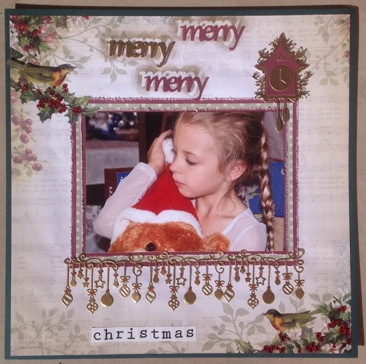 Cutting Dies - Be Merry - Christmas Eve Collection