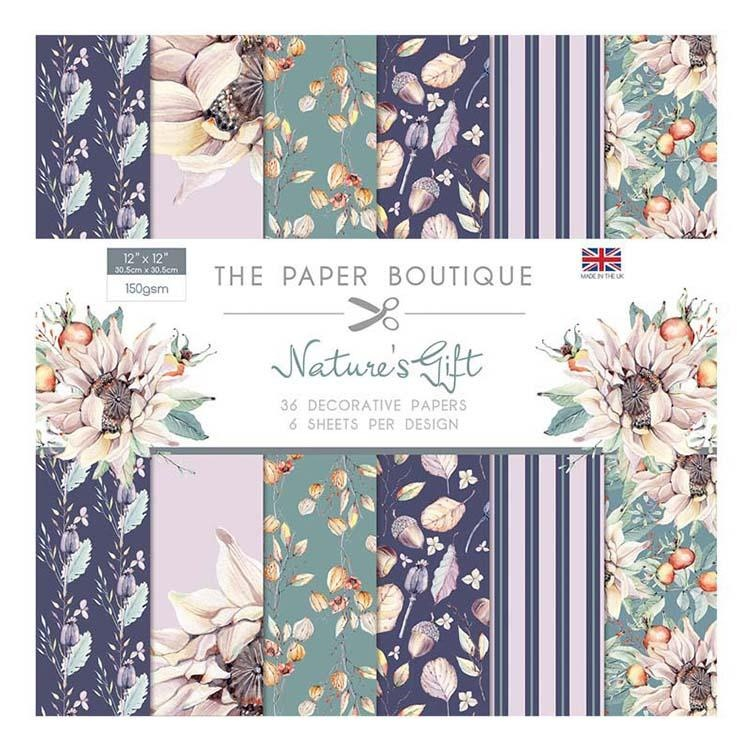 The Paper Boutique Nature's Gift 12x12 Paper Pad 160gsm