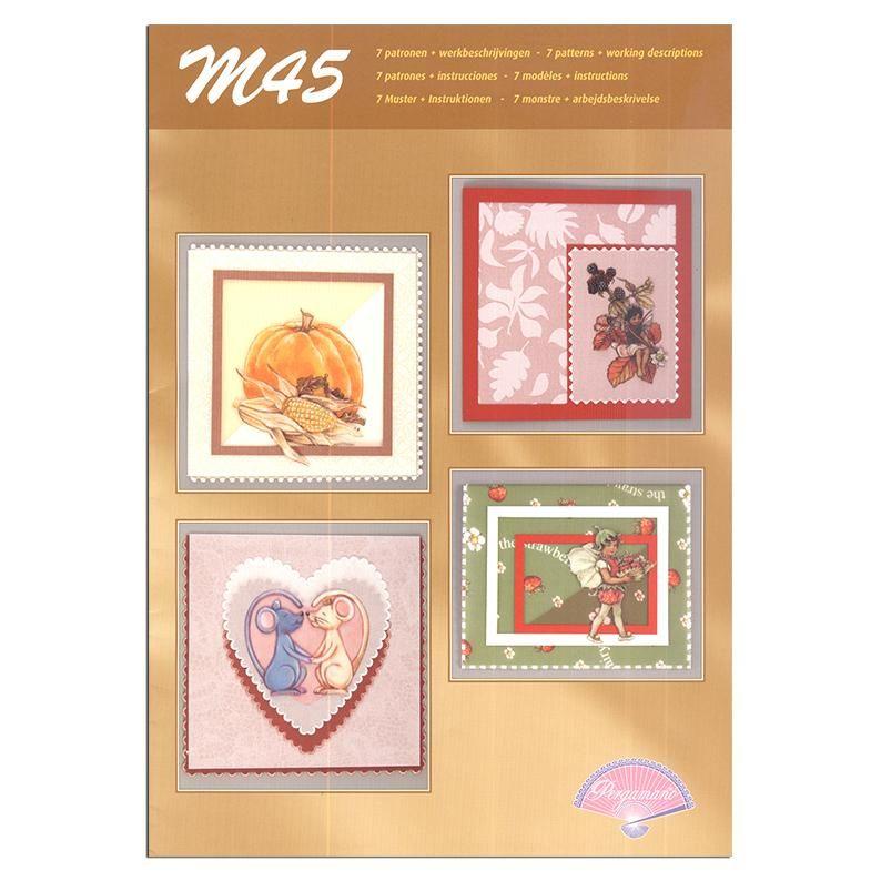 Pergamano Pattern Booklet M45 3D Parchment