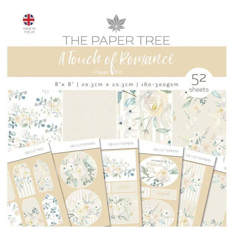 The Paper Tree A Touch Of Romance Paper Kit Inc Tag