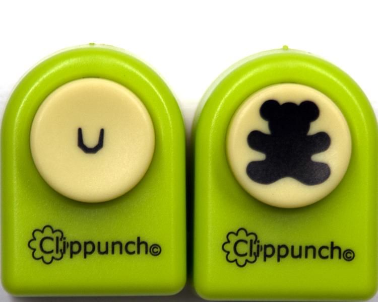 Clip Punch Teddy Bear