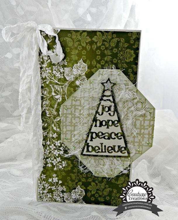 Cutting Dies - Goodwill Tree - Christmas Eve Collection