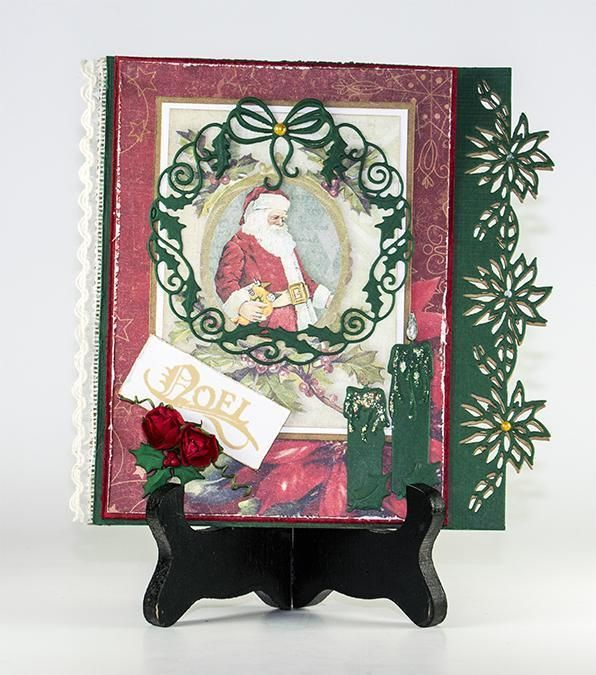 Cutting And Embossing Die - Edge Christmas Star (journal)