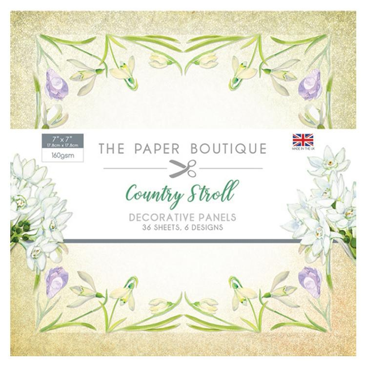 The Paper Boutique Country Stroll 7x7 Panel Pad