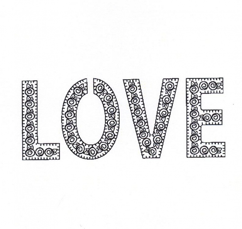 Creative Expressions Stamps - Forever Love