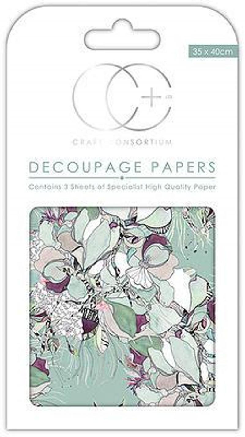Marine World Decoupage Papers