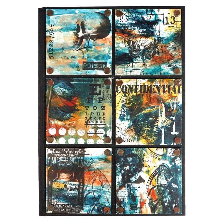 Creative Expressions Mixed Media Transfers By Andy Skinner Alchemy Plus