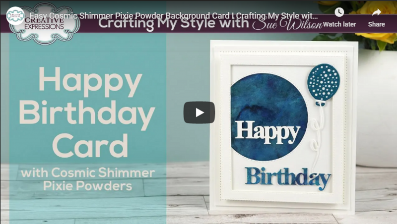 Dies By Sue Wilson Noble Expressions Collection Happy Birthday