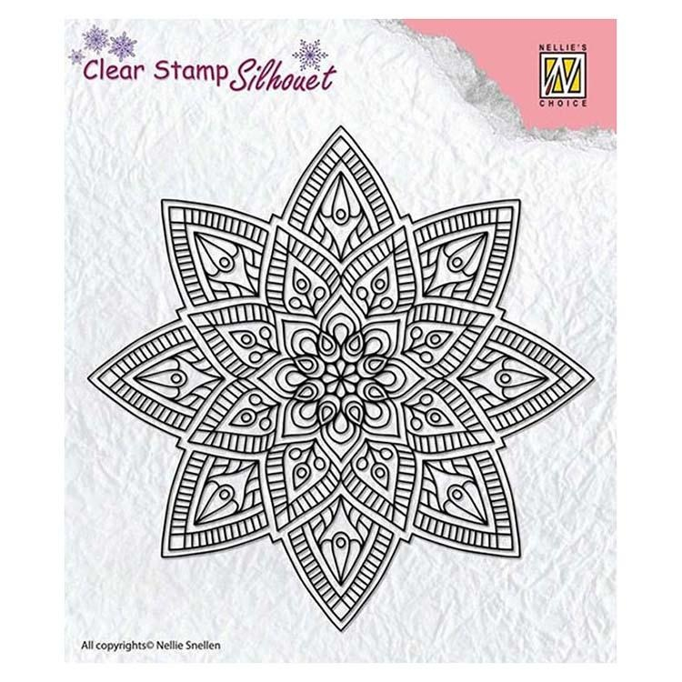 Nellie's Choice - Clear Stamp Mandala 2