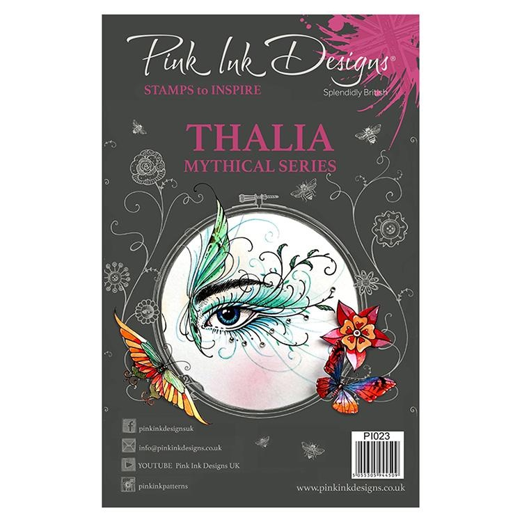 Pink Ink Designs A5 Clear Stamp Thalia