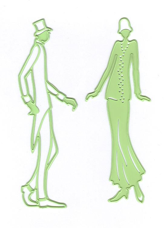 Leabilitie Couple Cut And Embossing Die