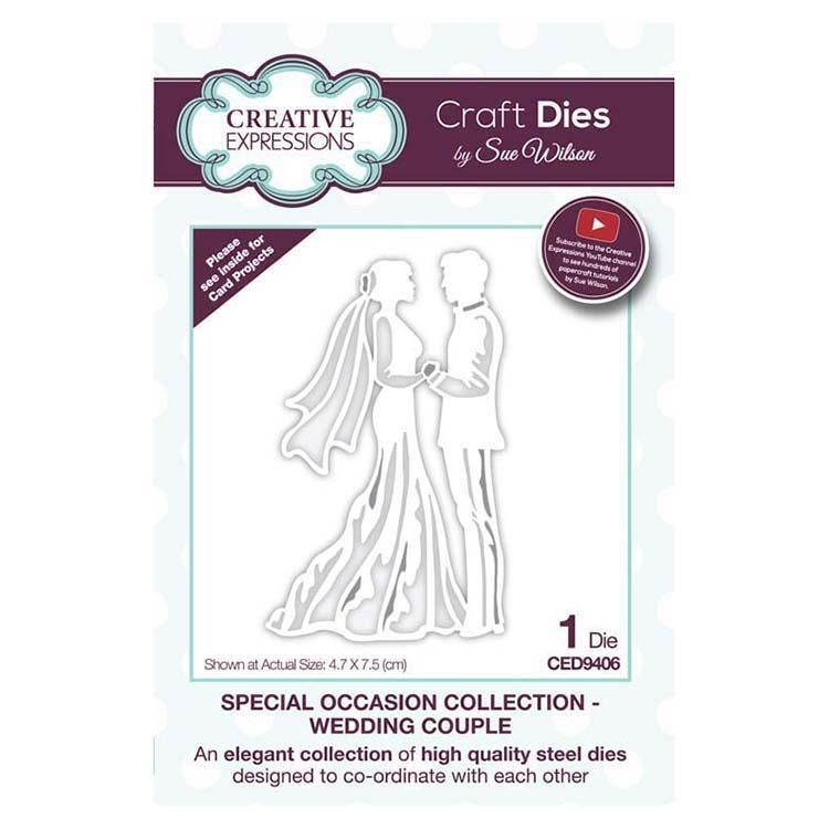 Dies By Sue Wilson Special Occasions Collection Wedding Couple