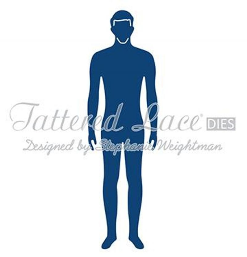 Tattered Lace Die - George's Body