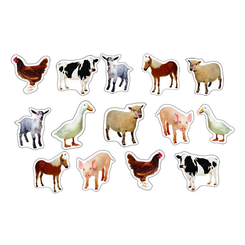 Farm Animals Photographic Stickers