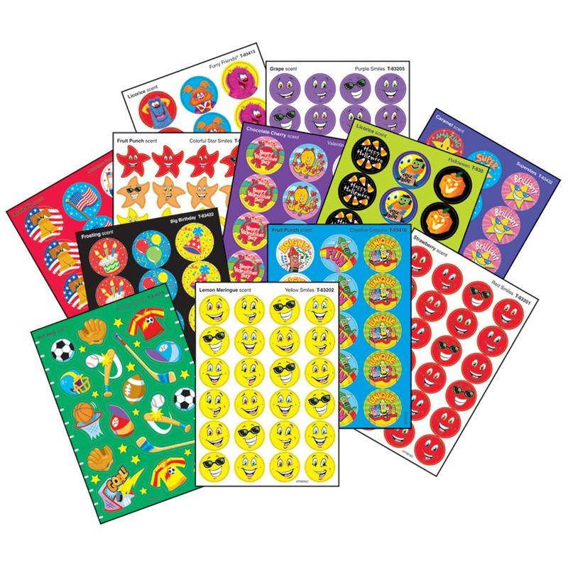 Super Assortment Sticker Pk 1000/Pk