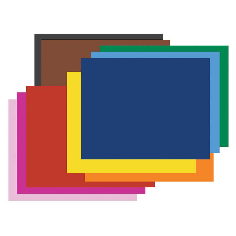 Poster Board 4Ply 100 Sheets Asst Colors