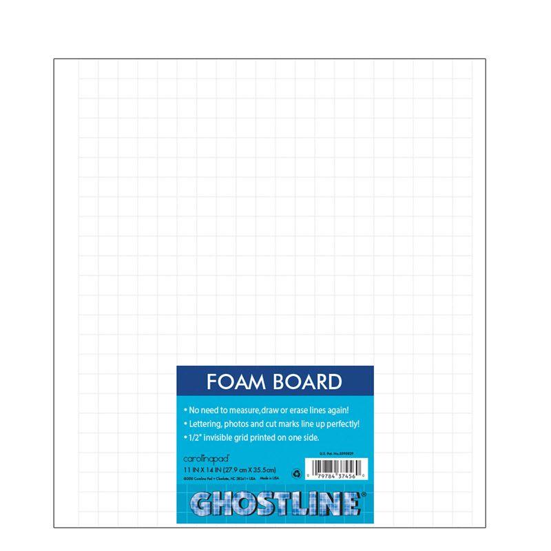 Foam Board White 11x14 5/ct