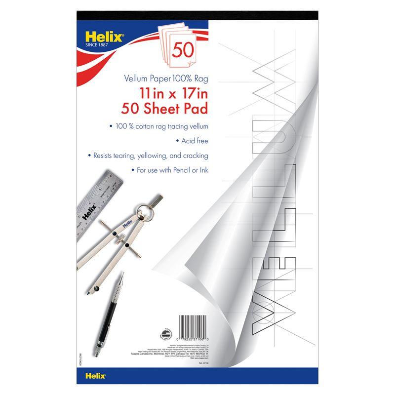 Vellum Paper Pad 50 Sheets