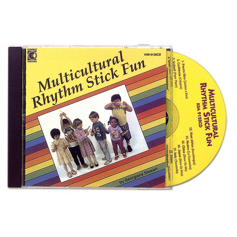 Multicultural Rhythm Stick Fun Cd Ages 3-7