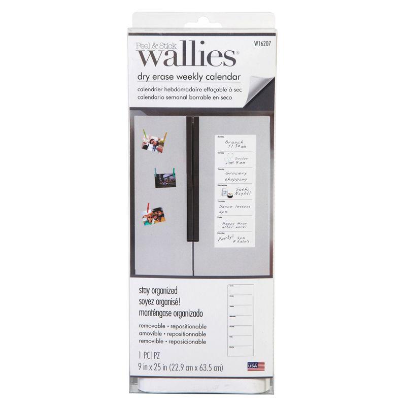 Weekly Calendar Wallies Dry Erase
