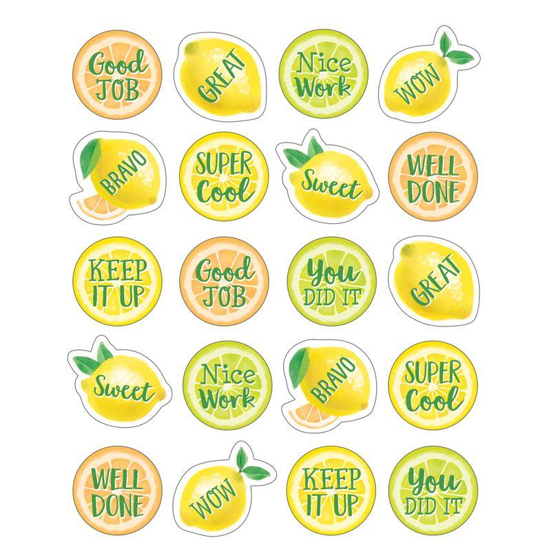 Lemon Zest Stickers