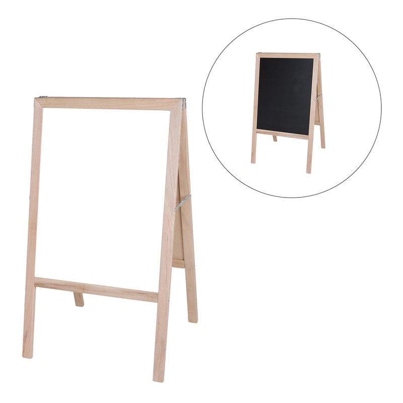 Marquee Easel White Dry Erase Black Chalk