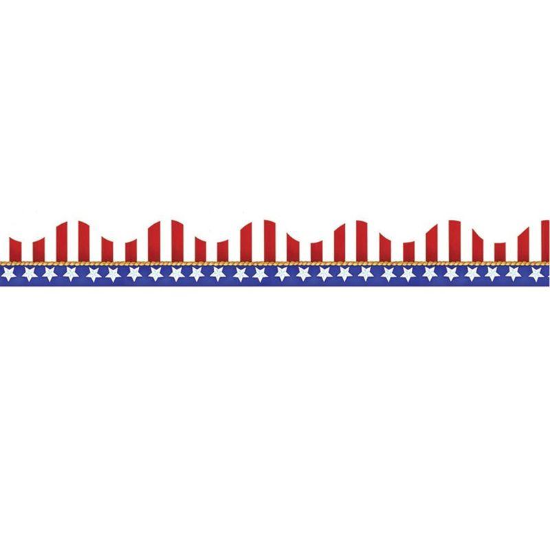 American Flags-Electoral Scalloped Deco Trim