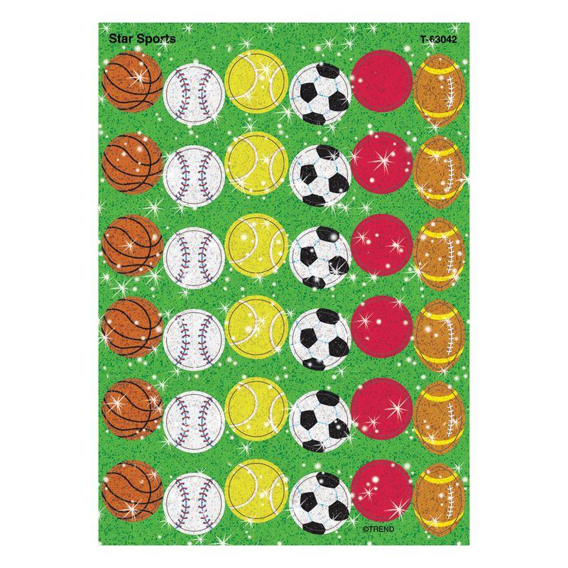 Sparkle Stickers Star Sports