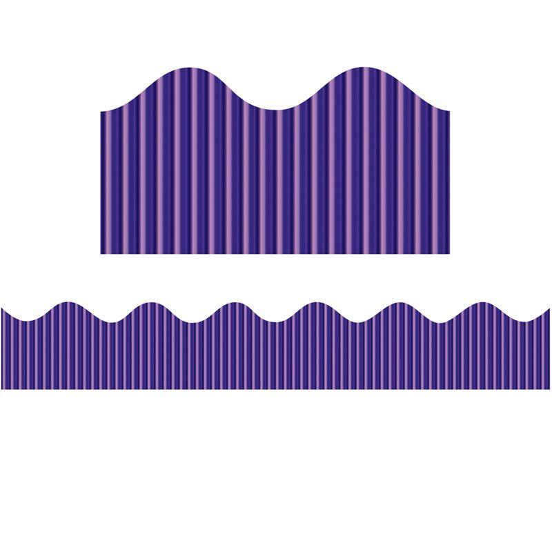 Metallic Bordette Rolls Purple