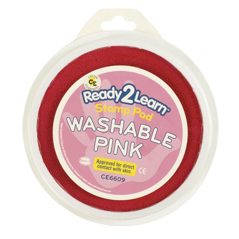 Jumbo Circular Washable Pads Pink Single