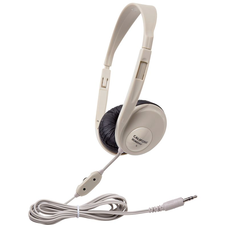 Multimedia Stereo Headphones Beige