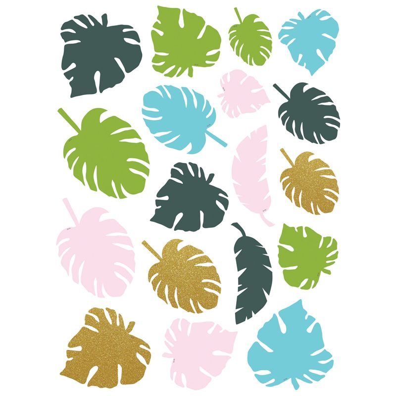 Tropical Palm Leaves Accents Assrtd Sizes