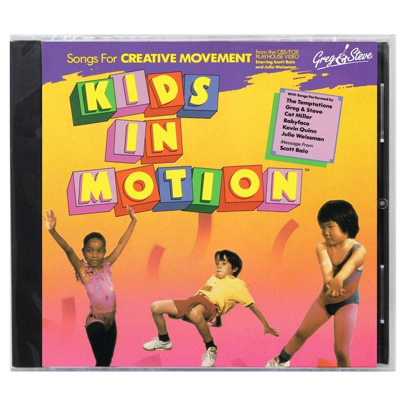 Kids In Motion Cd Greg & Steve