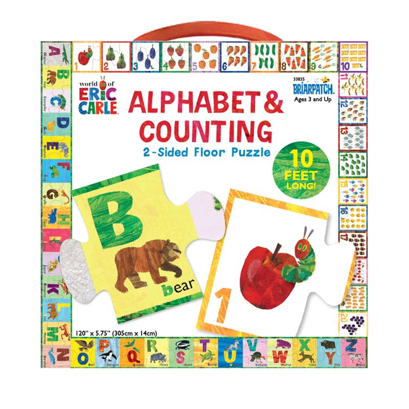 Alphabet & Counting Floor Puzzle The World Of Eric Carle